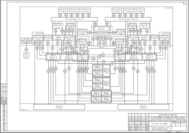 ...электрические принципиальные, схемы соединений, схемы